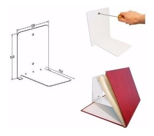 estante repisa flotante invisible libros deco biblioteca
