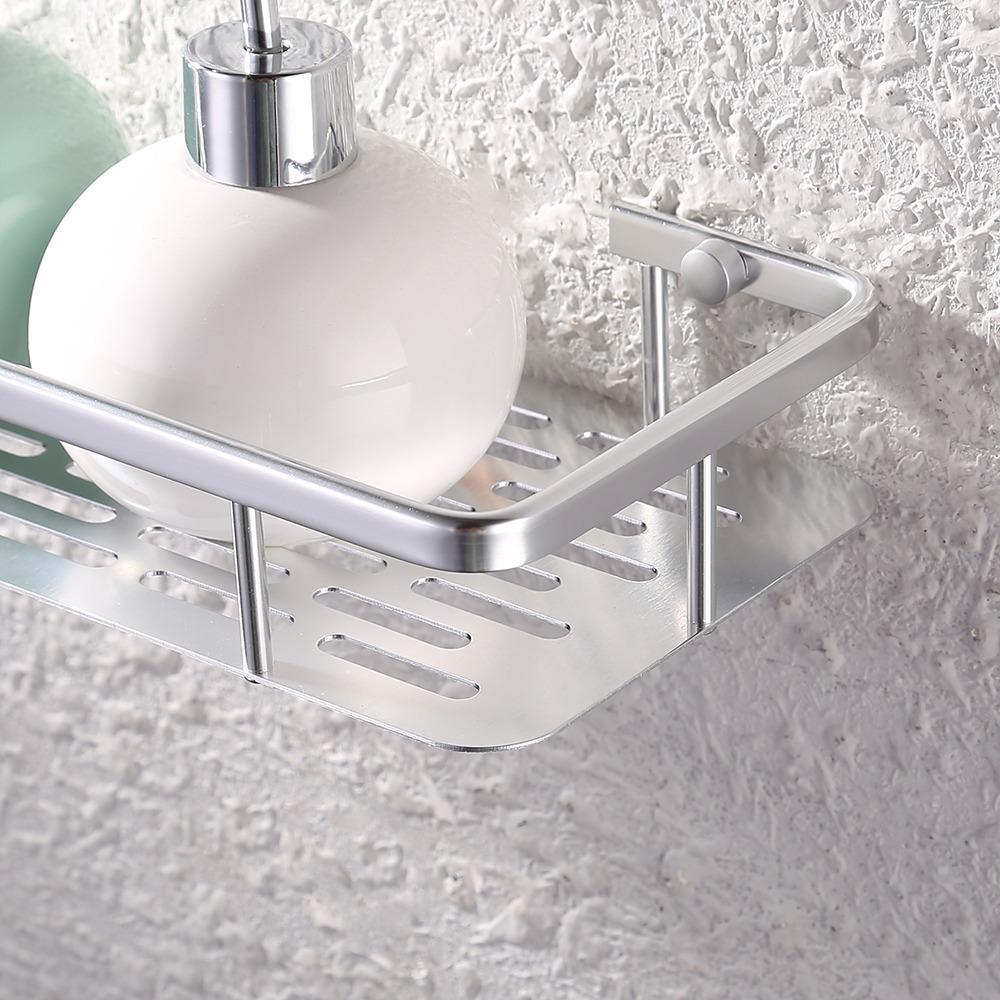 estante repisa rectangular de acero baño 32cm jabonera ducha. Cargando zoom. e0acd2cb9ee6