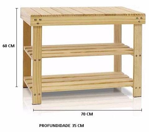 Estante sapateira multiuso prateleira arm rio madeira r for Distancia entre estantes biblioteca