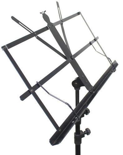 estante tripé de partitura telescópica prática com bag