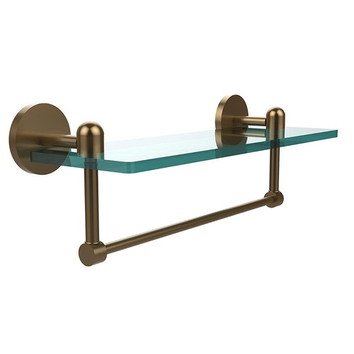 estante vidrio ta-1tb / 16-bbr de allied latón con bar toal