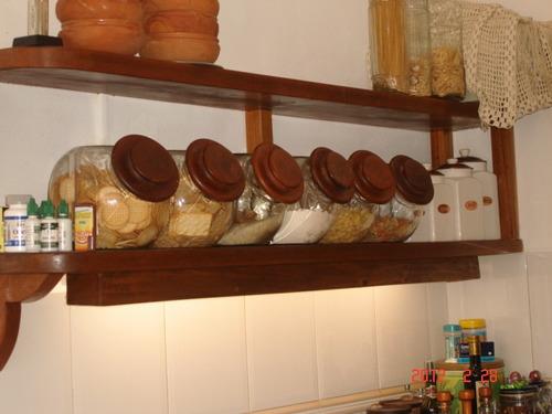 Estanteria de cedro para cocina con tubo luz u s 200 00 - Estanterias para cocina ...