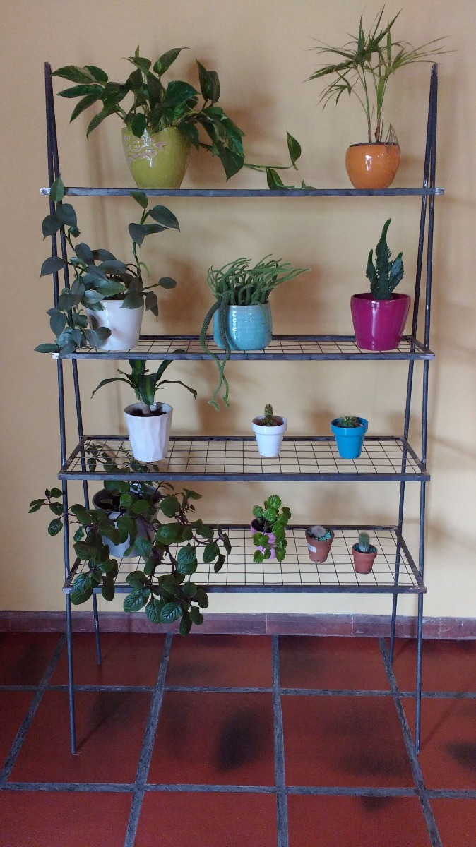 Estanteria De Hierro Para Plantas 599000 En Mercado Libre - Estanteria-para-plantas