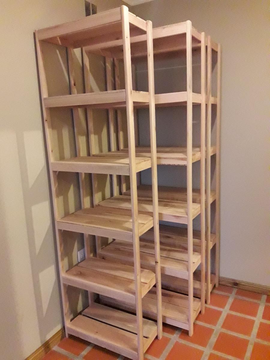 Estanteria de madera en mercado libre - Estanterias en madera ...