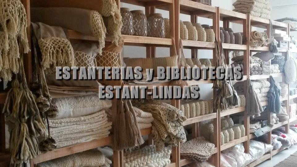 Estanteria De Madera Rustica Estant Lindas 200x80x30 260000 - Estanterias-rusticas-de-madera