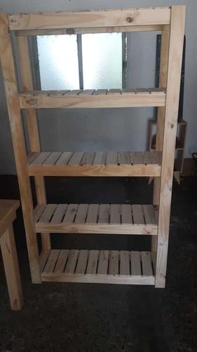 estanteria de pino