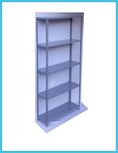 estanteria metalica 42cmx90cmx2m ref. p/50kg x est. fabrica!