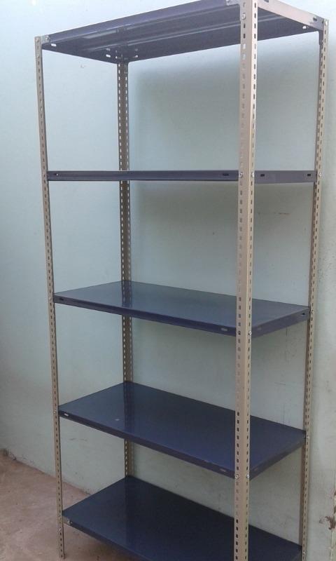 Estanterias metalicas para bao top top simple cool estantera de bao madera armario de bao - Estanterias metalicas precio ...