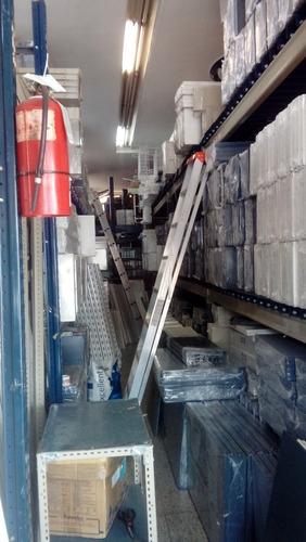 estantería metálica 42x90x200m 5 estantes c/u 100 kg reforz