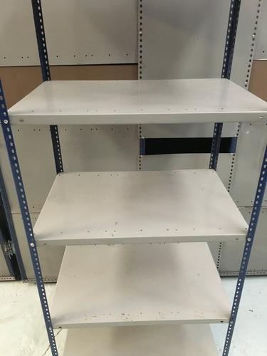 estantería metálica de 70x90 usada - 5 estantes morwin 2,1 m