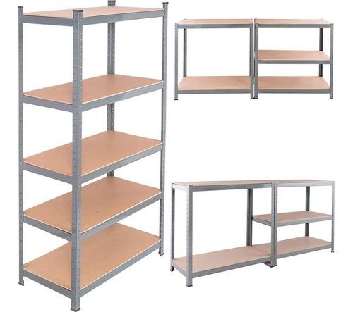 estanteria metalica multiuso - estantes en mdf