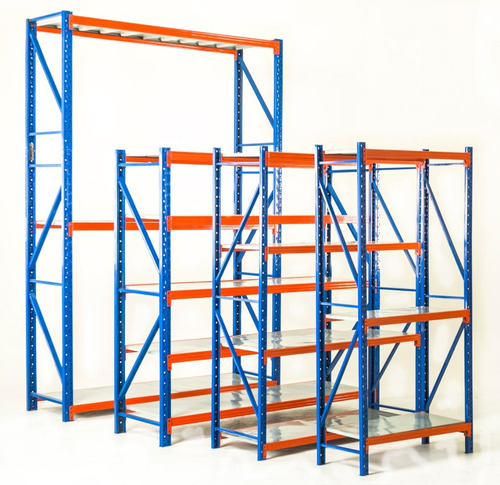 estantería metálica reforzada sin tornillo 2x1x60cm 800kg