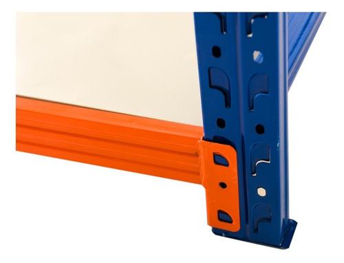 estantería metálica reforzada sin tornillos 2x2x50cm 800kg