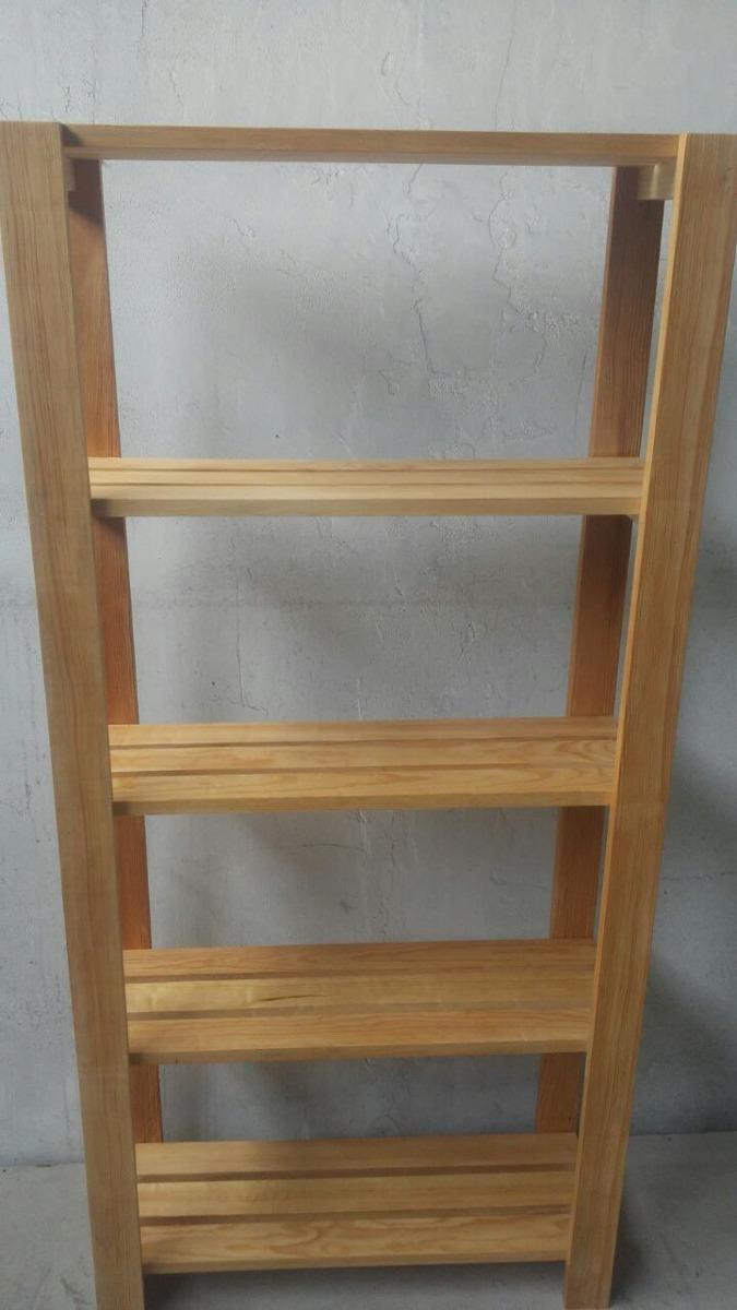 Estanteria modular de madera para alacena o repisa nueva for Estanteria madera maciza