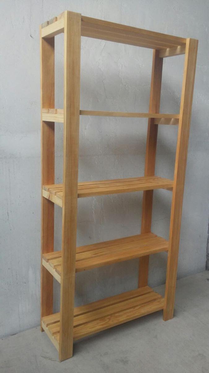 Estanteria modular de madera para alacena o repisa nueva for Alacena madera maciza