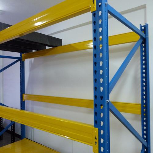 estanteria rack industrial / estantes, estibas plasticas