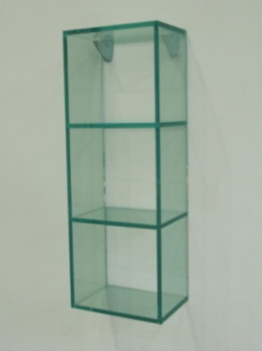 estanterias de cristal pegado ultra violeta