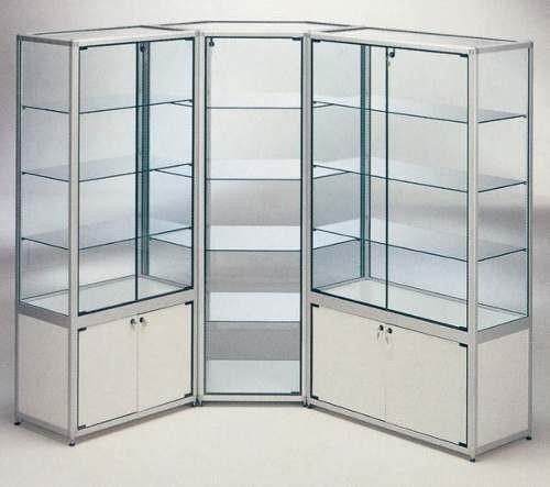 Estanterias de la linea de volume en vidrio templado en mercado libre - Estanterias con cristal ...