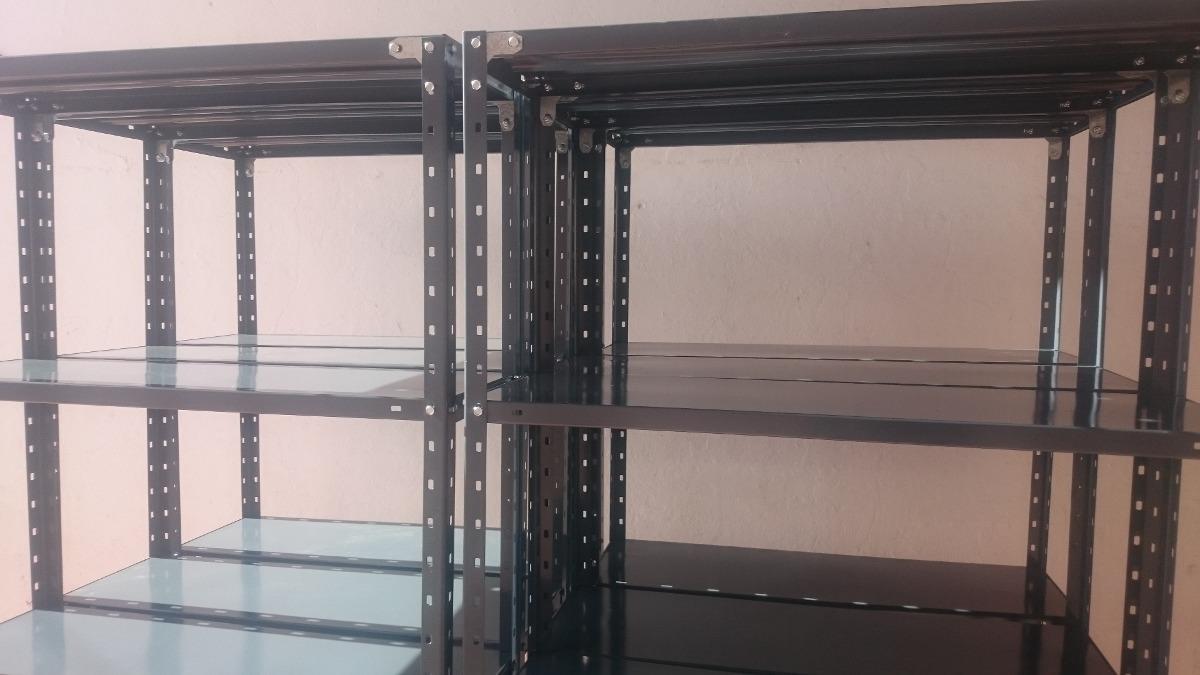 Estanterías Metálicas Con Refuerzo 90x30x200cm 65kg En Lanus ...