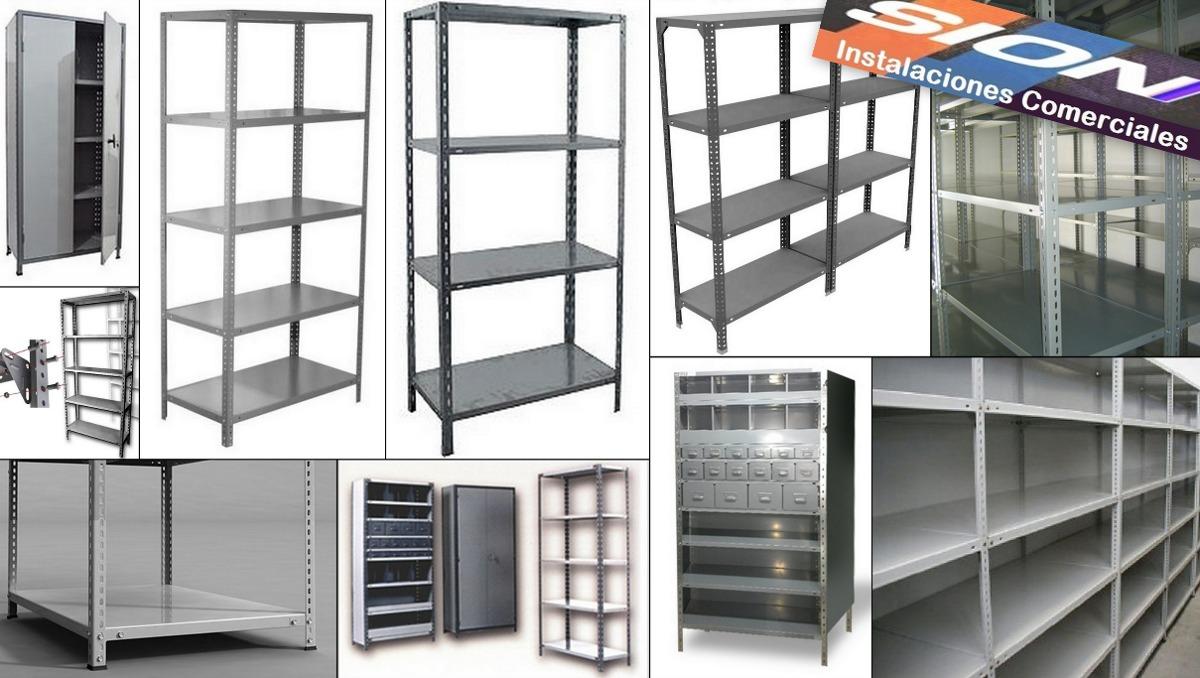 Estanteras metlicas precios trendy estanteras metalicas - Estanterias modulares metalicas ...
