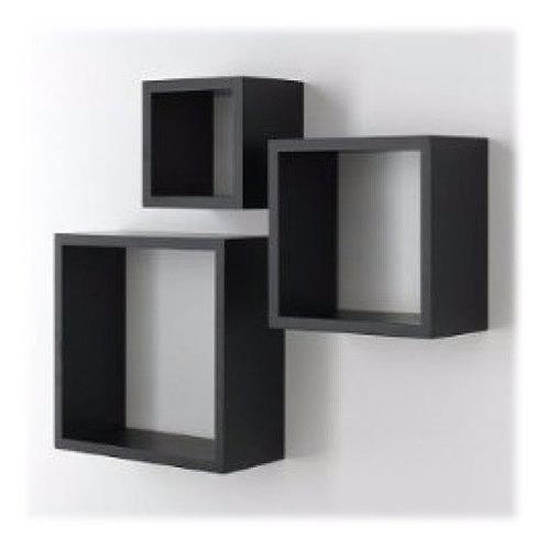 estantes cubos melamina sobre mdf no aglomerado