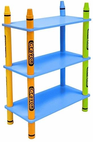 estantes de madera de repisas estilo crayon para nios with estanterias para nios with estanterias nios - Estanterias Para Nios