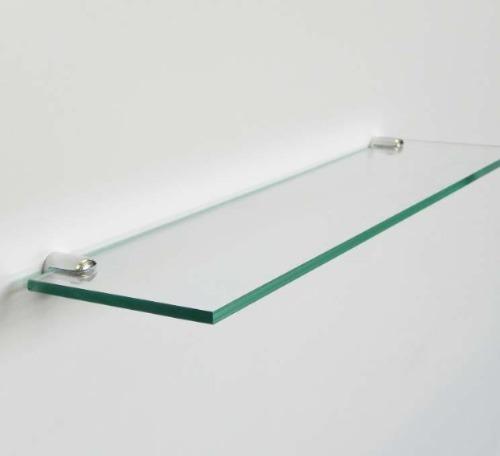 estantes de vidrio prontos para colgar