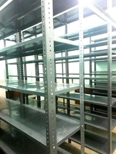 estantes metalicos extrareforza 240x92x40 angulo 2x1 6 paños