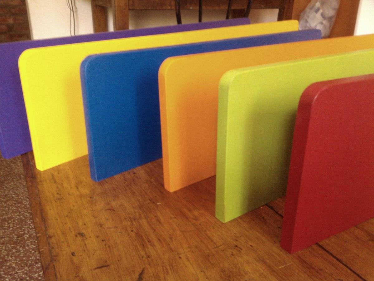 Estantes repisas infantiles flotantes puntas redondeads for Muebles infantiles en uruguay