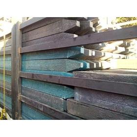 Estantillos De Madera Plastica Macizos 7cmx7cmx2mts