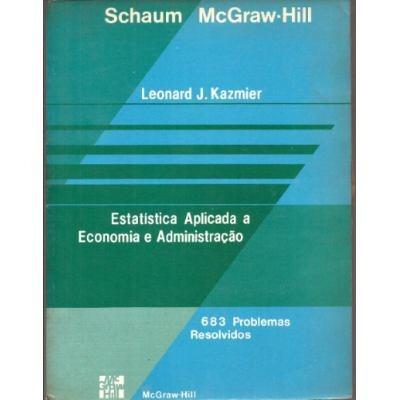 estatística aplicada a economia e administração leonard