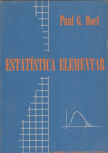 estatística elementar - paul g. hoel