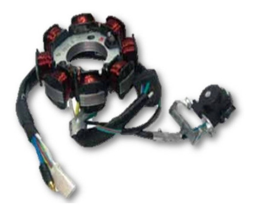 estator 8 bobinas motoneta italika cs ds gs xs ws gts