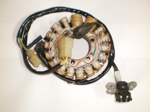 estator bobinado faísca e luz xlx-350 sahara original