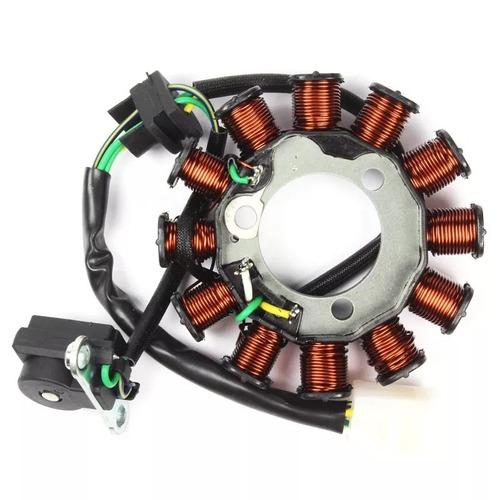 estator bobinas do motor cg fan 125 2009 à 14 baratão motos