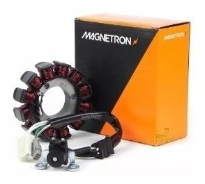 estator colar de força biz 125 2011 até 2017 magnetron