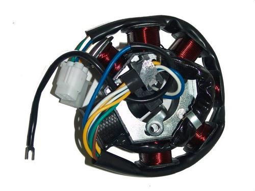 estator de 6 bobinas con sensor  para moto yamaha ybr