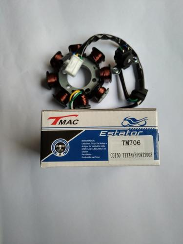 estator do magneto honda cg/titan/150/sport2008 frete grátis