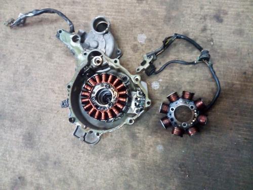 estator e regulador retificador de voltagem qualquer moto