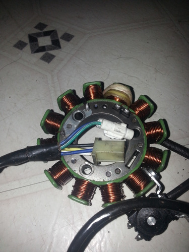 estator generico de 12 bobinas y 6 cablespar yamaha ybr 125