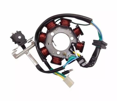 estator gerador bobinas motor cg 125 titan fan 2003 à 2008