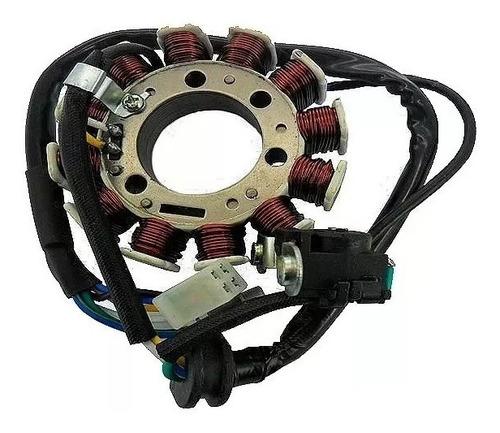 estator gerador bobinas motor yamaha ybr xtz 125 2002 à 2005