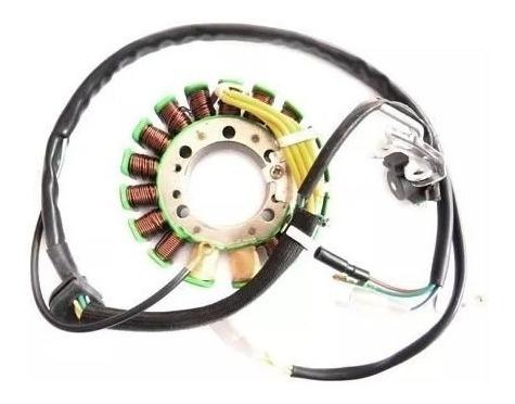 estator gerador c/ bobina de pulso motor honda nx 350 sahara