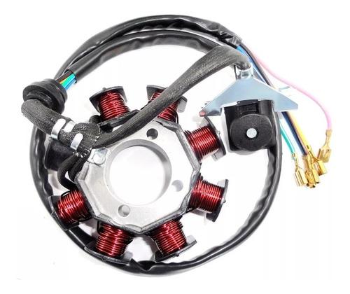 estator gerador c/ bobina pulso do motor dafra speed 150