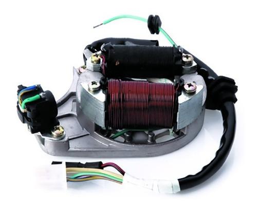 estator magneto biz 100 es 2002 a 2006 c/ bobina pulso