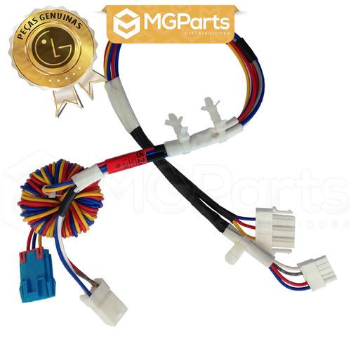 estator, rotor e chicote do motor p/ lavadoras lg (kit)