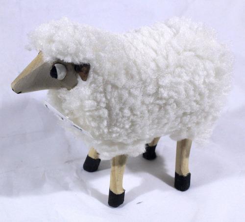 estatua de ovelha tamanho grande