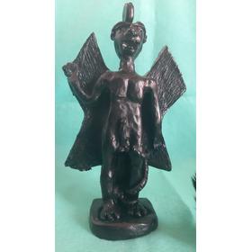 Estátua De Pazuzu (deus Sumério) Certificado Pela Odrai
