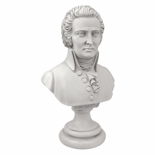 estatua escultura busto mozart envio gratis 1 699 00 en mercado
