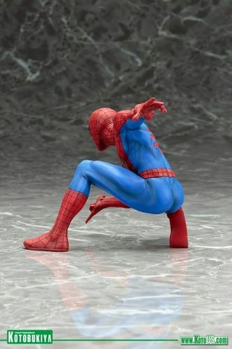 estatua hombre araña figura de coleccion 1/10 kotobukiya.